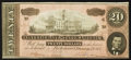Confederate Notes:1864 Issues, T67 $20 1864 PF-16 Cr. 516.. ...