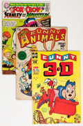 Golden Age (1938-1955):Funny Animal, Comic Books - Assorted Golden and Silver Age Funny Animal ComicsGroup (Various Publishers, 1950-69) Condition: Average GD....(Total: 28 Comic Books)