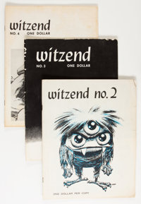 Witzend #2-5 Group (Wally Wood, 1966).... (Total: 4 Comic Books)