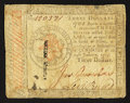 Colonial Notes:Continental Congress Issues, Continental Currency January 14, 1779 $3 Very Good.. ...
