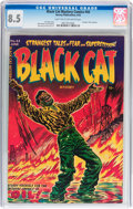 Golden Age (1938-1955):Horror, Black Cat Mystery #44 (Harvey, 1953) CGC VF+ 8.5 Light tan tooff-white pages....