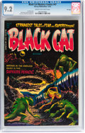 Golden Age (1938-1955):Horror, Black Cat Mystery #47 File Copy (Harvey, 1953) CGC NM- 9.2 Cream tooff-white pages....