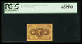 Fractional Currency:First Issue, Fr. 1231SP 5¢ First Issue Narrow Margin Face PCGS Gem New 65PPQ.. ...