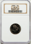 Proof Liberty Nickels, 1899 5C PR67 NGC....