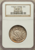 Commemorative Silver, 1938-D 50C Texas MS67 NGC....