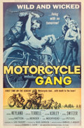 """Movie Posters:Exploitation, Motorcycle Gang (American International, 1957). Poster (40"""" X60"""").. ..."""