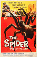 "Movie Posters:Horror, The Spider (American International, 1958). Poster (40"" X 60"").. ..."