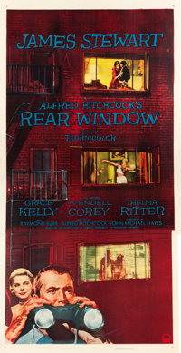 "Rear Window (Paramount, 1954). Three Sheet (41"" X 80"")"