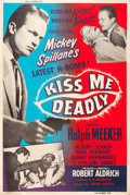 """Movie Posters:Film Noir, Kiss Me Deadly (United Artists, 1955). Poster (40"""" X 60"""").. ..."""