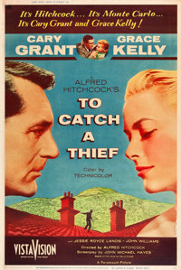 "To Catch a Thief (Paramount, 1955). Poster (40"" X 60"") Style Z"