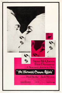 """The Thomas Crown Affair (United Artists, 1968). Poster (40"""" X 60""""). Crime"""