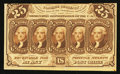 Fractional Currency:First Issue, Fr. 1282SP 25¢ First Issue Narrow Margin Face New.. ...