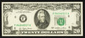Error Notes:Ink Smears, Fr. 2072-F $20 1977 Federal Reserve Note. Very Fine+.. ...
