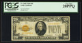 Small Size:Gold Certificates, Fr. 2402 $20 1928 Gold Certificate. PCGS Very Fine 20PPQ.. ...