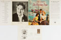 """Autographs:Authors, Janet Lambert, American Author and Actress, Shakespeare First Day Cover Signed """"Janet Lambert"""". Signed on a William Shak..."""