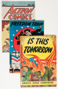 Golden Age (1938-1955):Miscellaneous, Comic Books - Assorted Golden-Bronze Age Promotional and Giveaway Comics Group (Various Publishers, 1950s-'70s) Condition: Ave... (Total: 38 Comic Books)