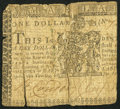 Colonial Notes:Maryland, Maryland January 1, 1767 $1 About Good.. ...