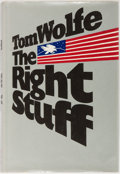 Books:Americana & American History, [Spaceflight]. Tom Wolfe. The Right Stuff. Farrar StrausGiroux, 1979. First edition, first printing. Publisher's cl...