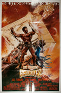 Autographs:Celebrities, Lou Ferrigno, Actor and Bodybuilder, Best Known for TheIncredible Hulk. Signature on Original Hercules ...