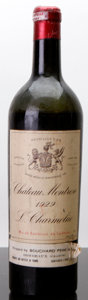 Red Bordeaux, Chateau Montrose 1929 . St. Estephe. ls, hbsl, lnl, nc.Bottle (1). ... (Total: 1 Btl. )