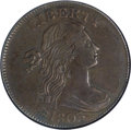 Large Cents, 1803 1C Small Date, Small Fraction AU50 NGC. S-255, B-14, R.1....