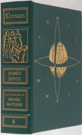Books:Literature 1900-up, Henri Matisse [illustrator]. James Joyce. Ulysses. EastonPress, 1996. Publisher's leather with light shelfwear,...