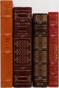 Books:Literature 1900-up, [Literature]. Group of Four Books in Publisher's Leather Binding.Easton Press/Franklin Library. Mild shelfwear with some sm...(Total: 4 Items)