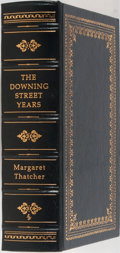 Books:Biography & Memoir, Margaret Thatcher. LIMITED/SIGNED. The Downing Street Years. Easton Press, 1993. First edition limited to 2000 n...
