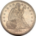 Seated Dollars, 1860-O $1 MS64 PCGS. CAC....
