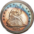Proof Seated Quarters, 1871 25C PR67 Cameo NGC....