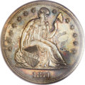 Proof Seated Dollars, 1871 $1 PR64 PCGS....