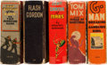 Big Little Book:Miscellaneous, Big Little Book Group (Whitman, 1934-40) Condition: Average VG....(Total: 5 Items)