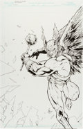 Original Comic Art:Covers, Mark Morales and Kenneth Rocafort Wizard #124-C CoverOriginal Art (Wizard, 2002)....