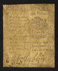 Colonial Notes:Pennsylvania, Pennsylvania April 3, 1772 6d Very Good.. ...