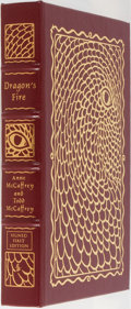 Books:Science Fiction & Fantasy, Anne McCaffrey and Todd McCaffrey. LIMITED/SIGNED. Dragon's Fire. Easton Press, 2006. First edition limited to 9...