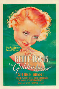 """The Golden Arrow (Warner Brothers - First National, 1936). One Sheet (27"""" X 41"""")"""