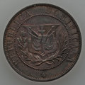Dominican Republic, Dominican Republic: Republic Essai bronze 2 Centavos Pair,...(Total: 2 coins)