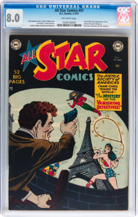 All Star Comics #57 (DC, 1951) CGC VF 8.0 Off-white pages