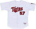 Baseball Collectibles:Uniforms, 2007 Johan Santana Game Worn Minnesota Twins Jersey. ...