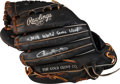 Baseball Collectibles:Others, 2008 Jason Bartlett Game Used Glove - Used in World Series. ...