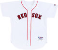 Baseball Collectibles:Uniforms, 2004 Tim Wakefield Game Worn Boston Red Sox Jersey....