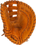 Baseball Collectibles:Others, 2008 Justin Morneau Game Used Glove. ...