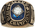 Basketball Collectibles:Others, 1970 Indiana Pacers ABA Championship Ring Presented to OllieDarden....