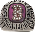 Baseball Collectibles:Others, 1986 Boston Red Sox American League Championship Ring....