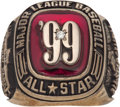 Baseball Collectibles:Others, 1999 Major League Baseball All-Star Game Ring....