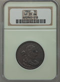 Large Cents: , 1802 1C VF35 NGC. NGC Census: (20/155). PCGS Population (58/157).Mintage: 3,435,100. Numismedia Wsl. Price for problem fre...