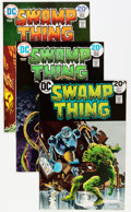 Bronze Age (1970-1979):Horror, Swamp Thing #6 and 8-10 Group (DC, 1973-74) Condition: AverageNM-.... (Total: 4 Comic Books)