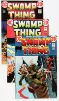Bronze Age (1970-1979):Horror, Swamp Thing #2-10 Group (DC, 1972-74) Condition: Average VF....(Total: 9 Comic Books)