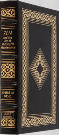 Books:Fiction, Robert M. Pirsig. SIGNED. Zen and the Art of MotorcycleMaintenance. Easton Press, 2001. Collector's edition sig...