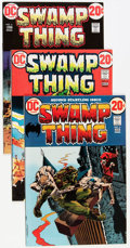Bronze Age (1970-1979):Horror, Swamp Thing #2-5 and 7 Group (DC, 1972-73) Condition: AverageVF-.... (Total: 5 Comic Books)
